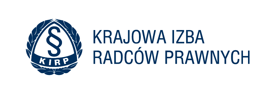 Logo KIRP wersja pozioma bez tla granatowe - O KANCELARII